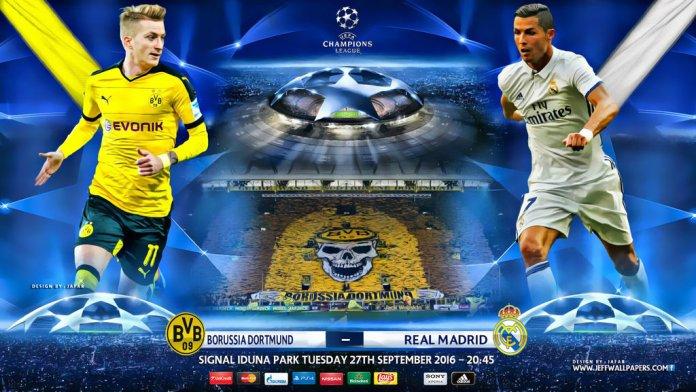 Alineación Borussia Dortmund-Real Madrid 2016