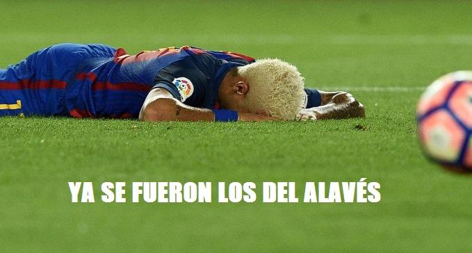 Memes Barcelona-Alavés