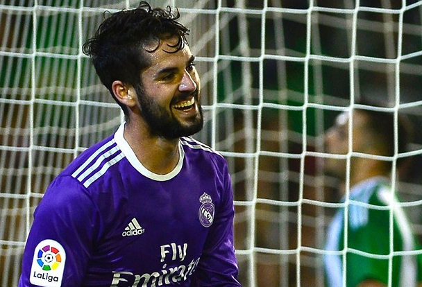 Betis-Real Madrid 2016 isco