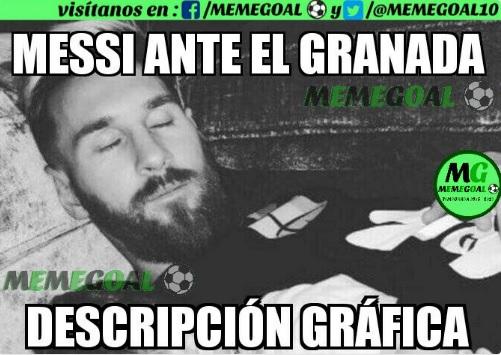 Memes Barcelona-Granada 2016