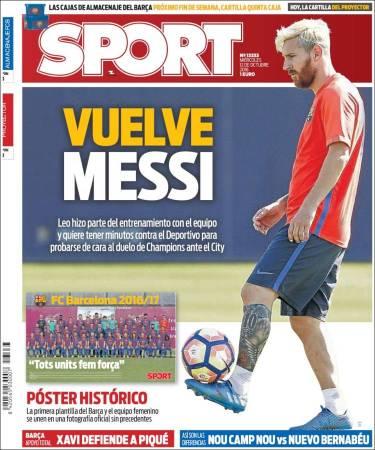 portada-sport-vuelve-messi
