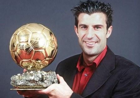 Luís Figo Balón de Oro 2000