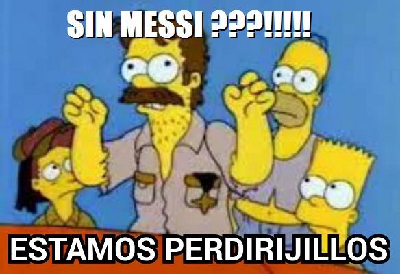 Memes Eliminatorias Sudamericanas sancion messi