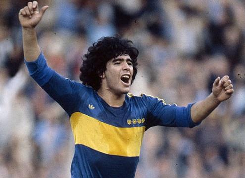 Diego Maradona Boca Juniors