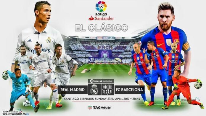 Alineación Real Madrid-Barcelona Jornada 33