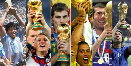 ⭐ Campeones Mundiales de Fútbol 1930-2018