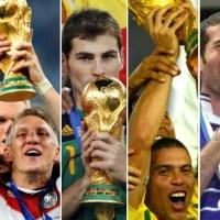 Campeones de los Mundiales FIFA