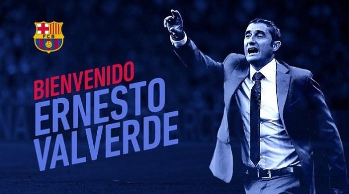 Ernesto Valverde ya es el nuevo entrenador del Barcelona