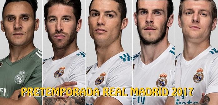 Pretemporada Real Madrid 2017
