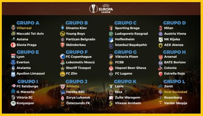Calendario Europa League 2017-2018