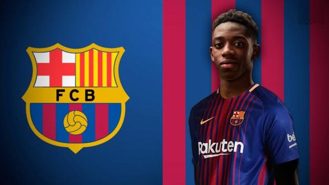 Ousmane Dembélé Barcelona