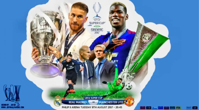 Real Madrid-Manchester United Supercopa 2017
