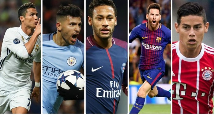 Partidos Jornada 5 Champions League 2017