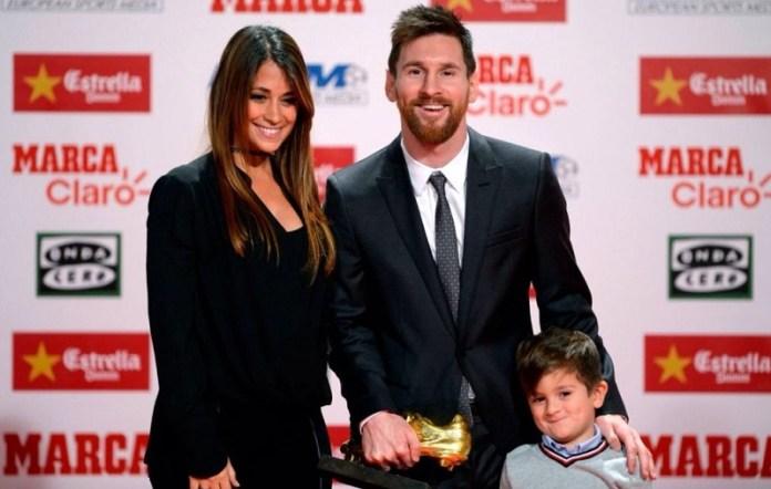 Leo Messi Bota de Oro 2017