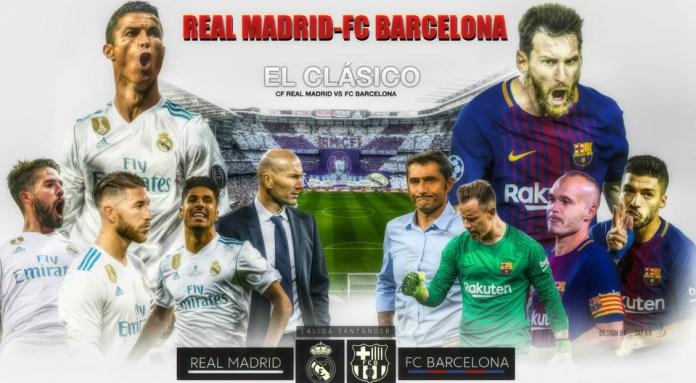 Alineación Real Madrid-Barcelona Jornada 17