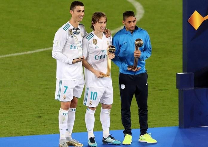 Las mejores imágenes del Real Madrid Campeón Mundial de Clubes 2017 cristiano modric