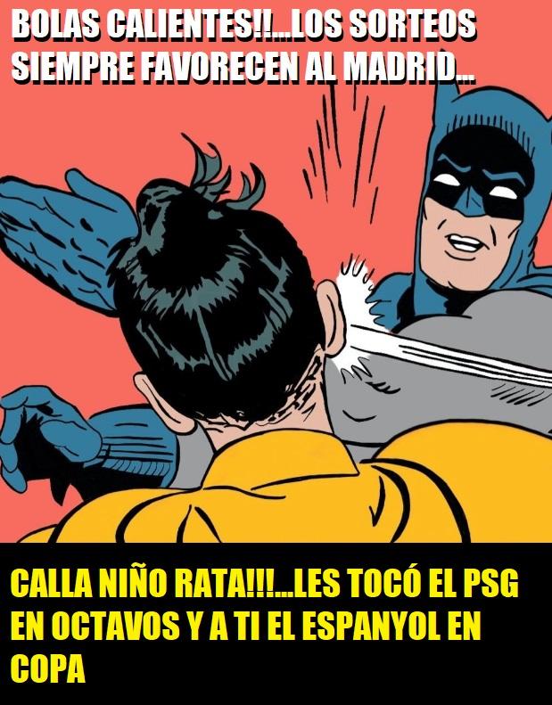 MEMES SORTEO COPA DEL REY