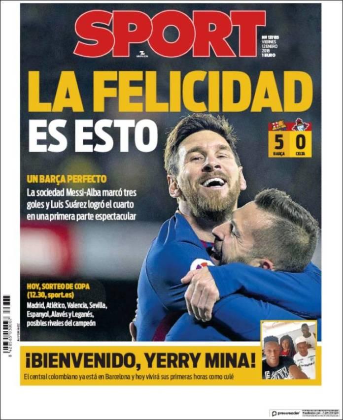 Barça 5-0 Celta