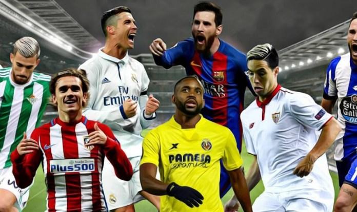 Alineaciones Jornada 22 Liga Santander