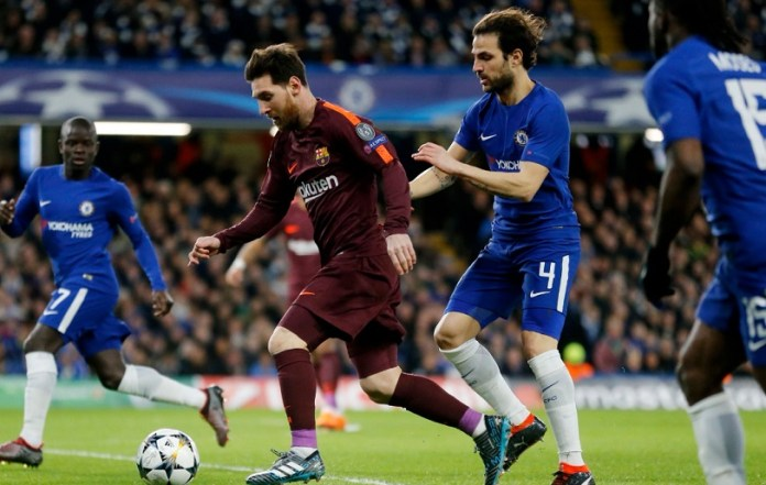 Chelsea 1-1 Barcelona Octavos Champions 2018   Ida