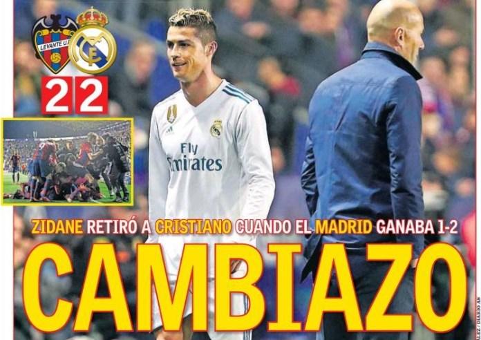 El Madrid vuelve a naufragar
