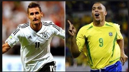 Máximos goleadores de los Mundiales de Fútbol en la Historia