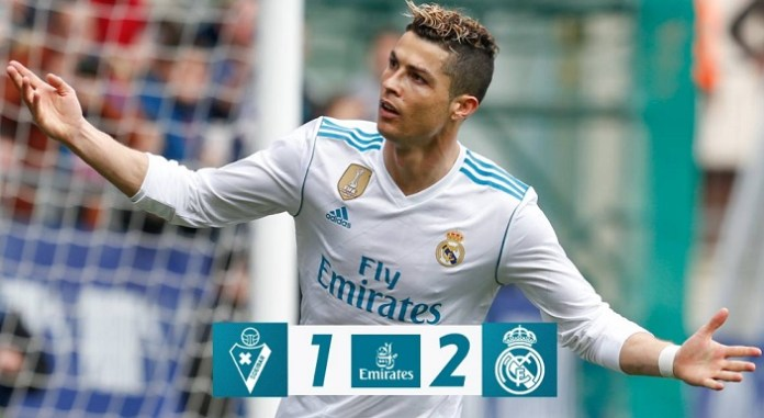 Eibar 1-2 Real Madrid Jornada 28