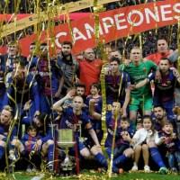 Las imágenes del Barcelona Campeón Copa del Rey 2018