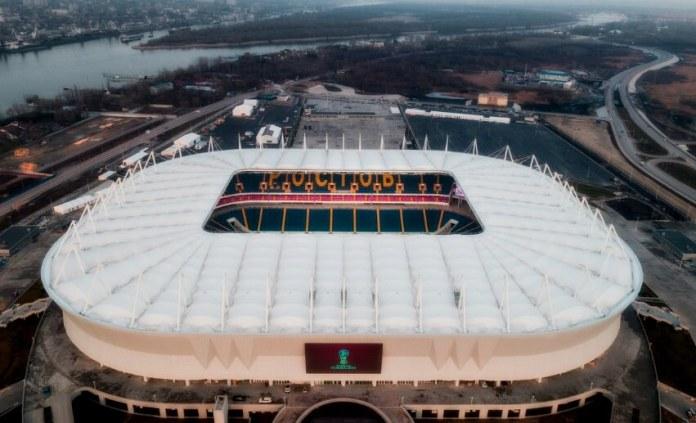 Estadio Rostov Arena Sede Mundial Rusia 2018