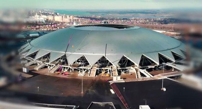 Estadio Samara Arena Sede Mundial Rusia 2018