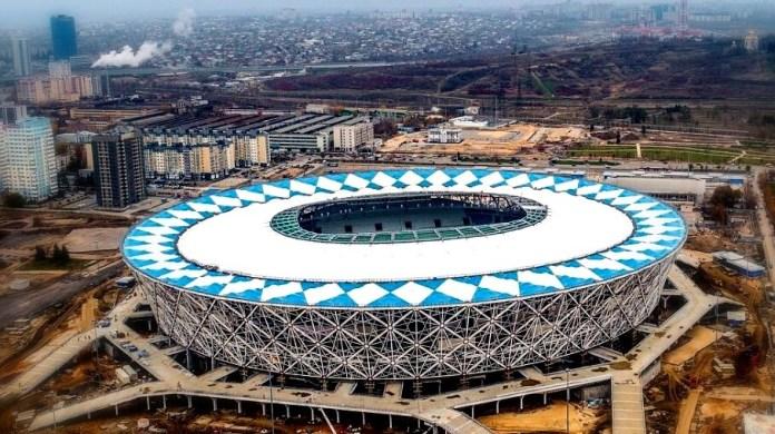 Esadio Volgogrado Arena Sede Mundial Rusia 2018