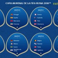 Calendario Mundial Rusia 2018 en PDF | Fixture para Descargar