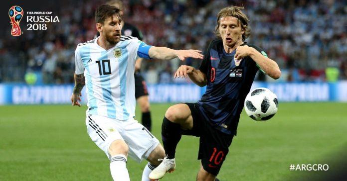Argentina 0-3 Croacia Mundial Rusia
