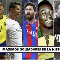 Máximos Goleadores de la Historia del Fútbol Mundial | El TOP 30
