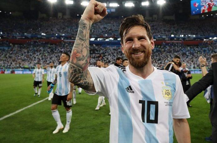 Nigeria 1-2 Argentina Mundial Rusia