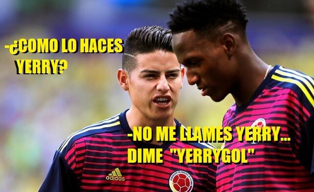 Memes Polonia-Colombia e Inglaterra Panamá