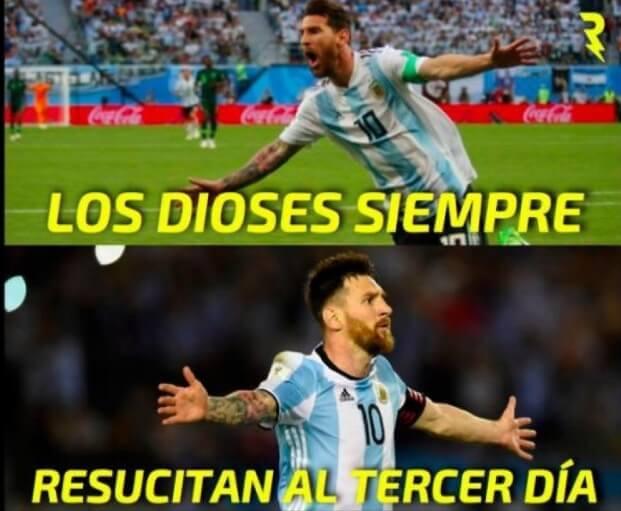 Memes Argentina-Francia Mundial 2018