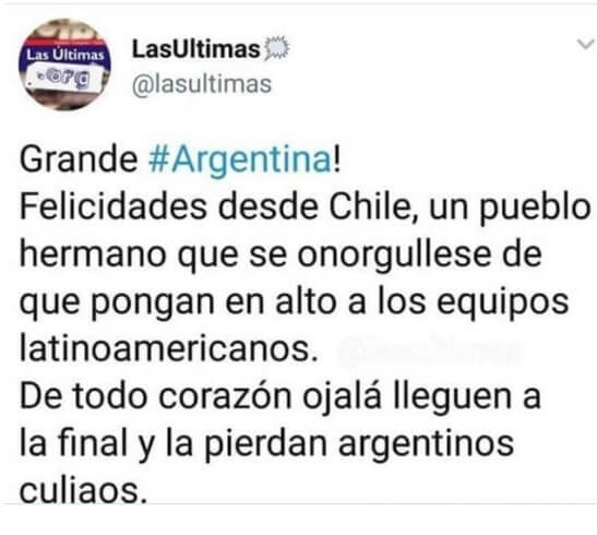Memes Argentina-Francia Mundial 2018 chile
