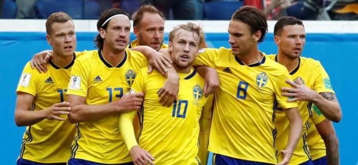 Suecia 1-0 Suiza Mundial Rusia