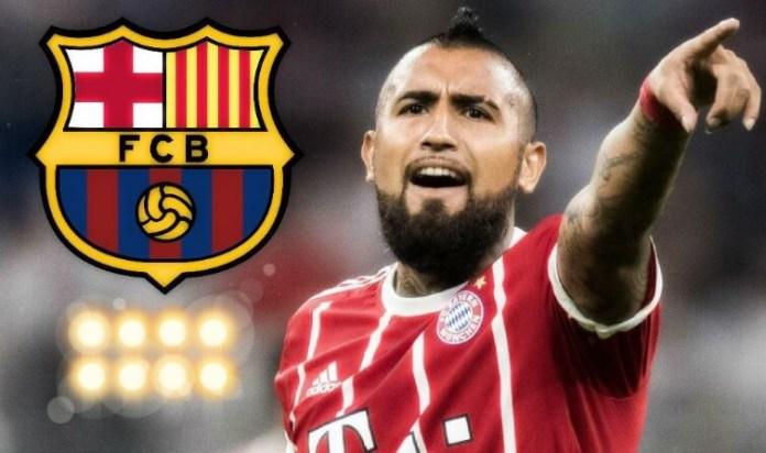 Arturo Vidal a un paso del Barça