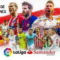 Tabla de posiciones Liga Española Santander 2018