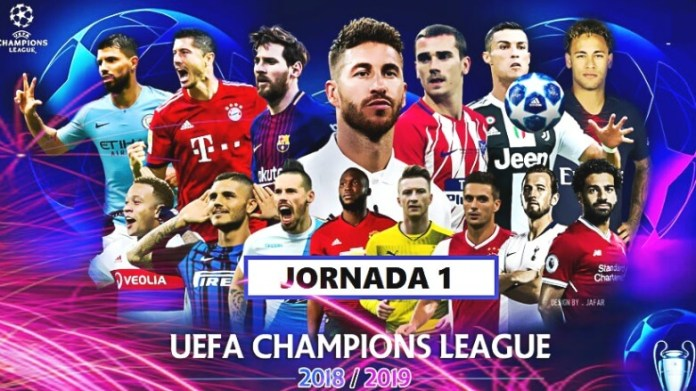 Partidos Jornada 1 Champions 2018