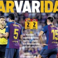 BarVaridad, Gironazo en el Camp Nou, hoy Gala The Best | Las Portadas