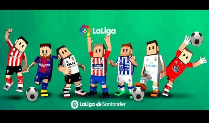 Liga Española 2018   Partidos y horarios