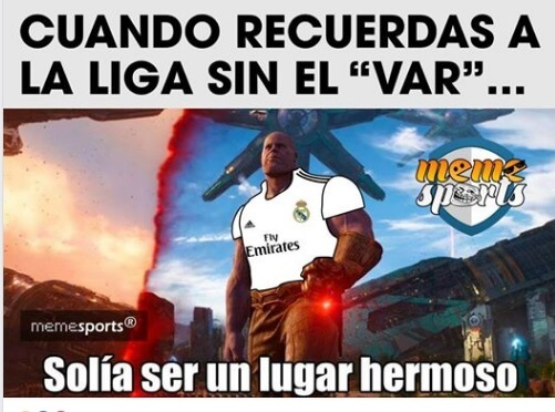 Memes del Real Madrid-Levante 2018