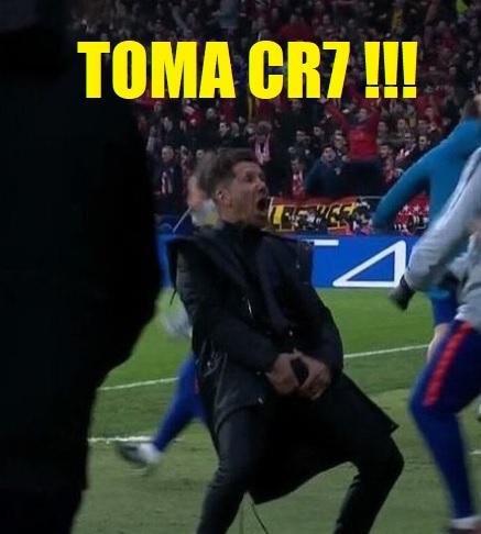 Memes Atlético Madrid-Juventus 2019 cholo simeone huevos