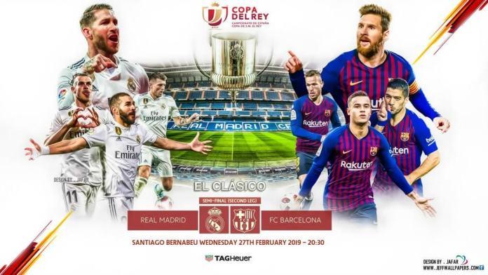 Madrid-Barça Copa del Rey 2019