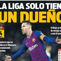 Las Portadas Deportivas 18/03/2019 | Marca, As, Sport, Mundo Deportivo