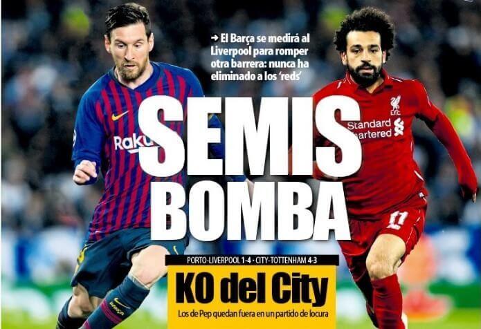 Las Portadas Deportivas 18/04/2019
