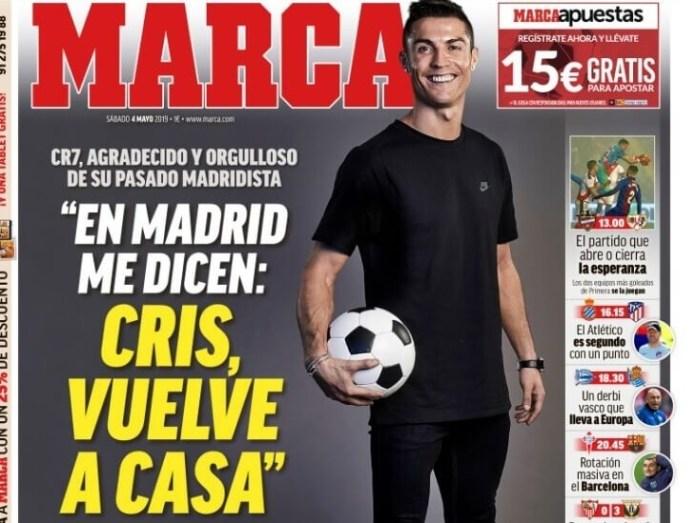 Las Portadas Deportivas 3/05/2019